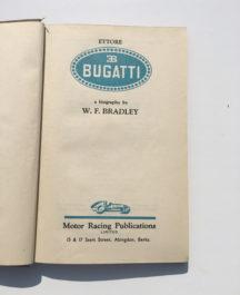 Bugatti - W. E. Bradley