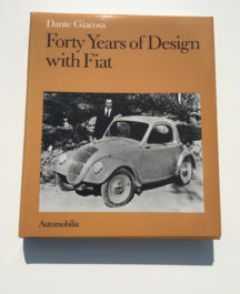 Forty Years of Design with Fiat - Dante Giacosa