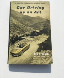 Car Driving As An Art S.C.H Davis
