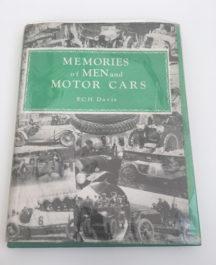 Memories of Men and Motorcars - S.C.H Davis