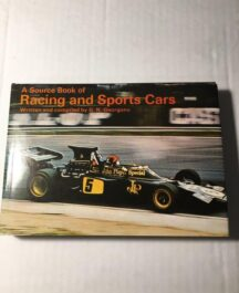A Source Book of Racing and Sports Cars G.N. Georgano