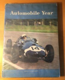 Automobile Year 1959 -1960 Author: Foulis & CoDate of Publication: 1960
