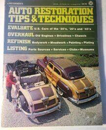 Auto Restoration Tips and Techniques Author: Petersen'sDate of Publication: 1976