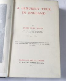 Author:  James John HisseyDate of Publication:  1913