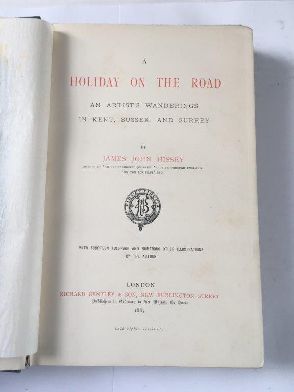 Author:  James John HisseyDate of Publication:  1887