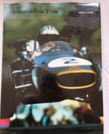 Automobile Year 1967-68 (No: 15) Author:  Edita S A LausanneDate of Publication:  1968