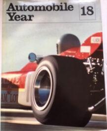 Automobile Year 1970-71 (No: 18) Author:  Edita S A LausanneDate of Publication:  1971