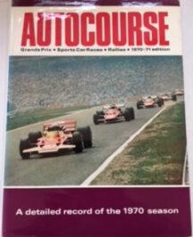 Autocourse 1970/71 Author:  Ed: David PhippsDate of Publication:  1977