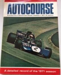 Autocourse 1971/72 Author:  Ed: David PhippsDate of Publication:  1978