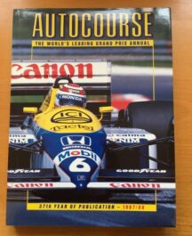 Autocourse 1987/88 Editor: Alan Henry 1988