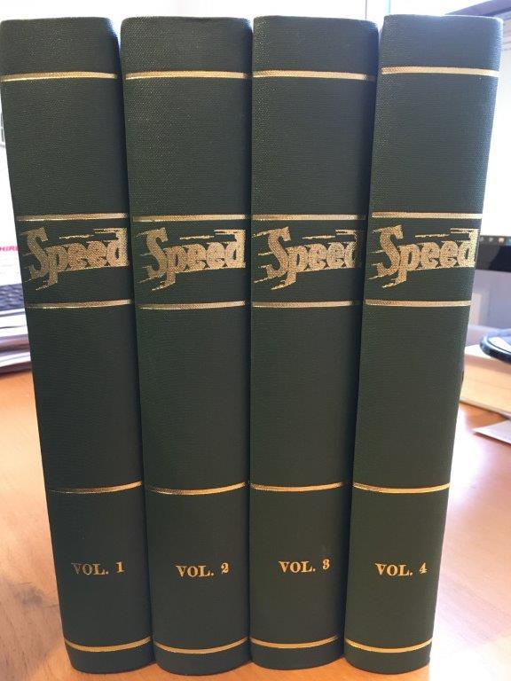 Speed Magazine - bound volumes 1935-1939 BRDC