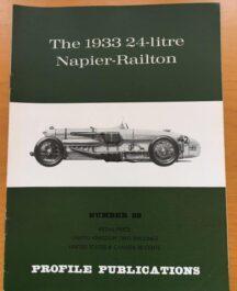 No: 28 - 1933 24 litre Napier Railton Profile Publications 1967