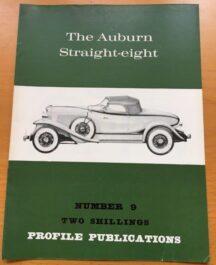 No: 9  - Auburn Straight eight Profile Publications 1967
