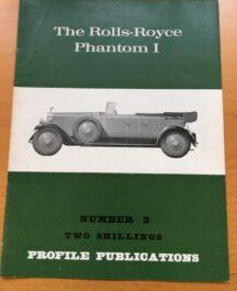 No: 2 - Rolls Royce Phantom 1 Profile Publications 1967
